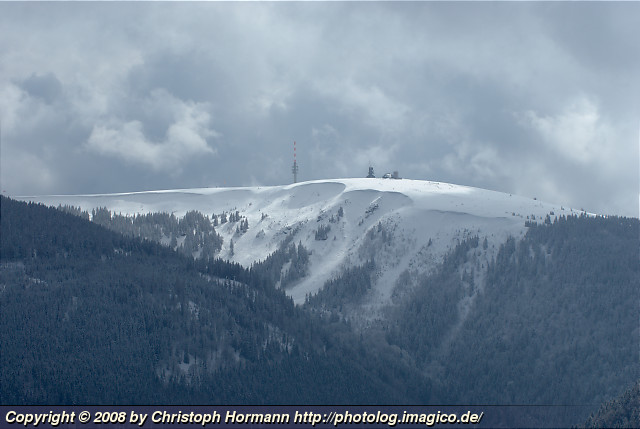 image 22: The snow covered Feldberg from the north