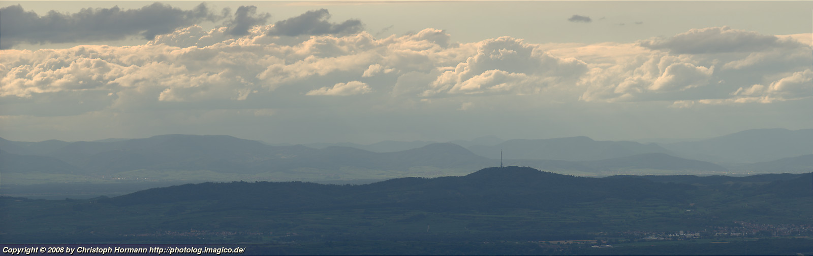 image 28: Clouds over Vosges mountains and Kaiserstuhl