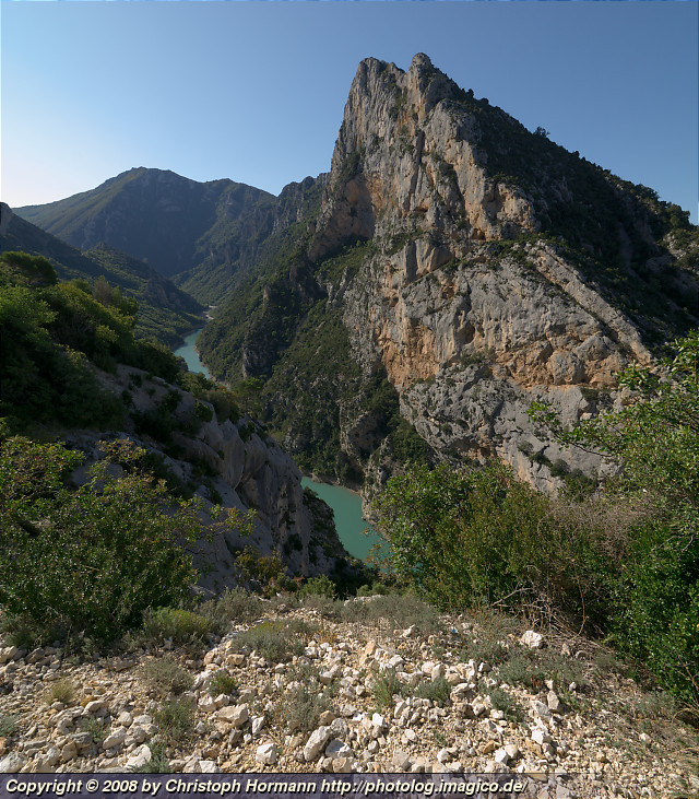 image 35: Gorges du Verdon in southern France - near the lower end