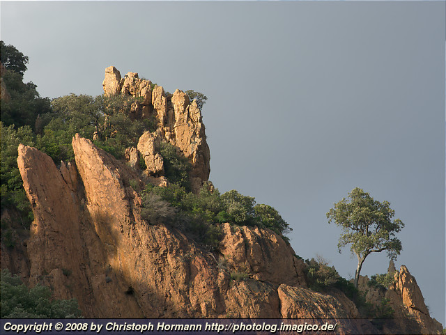 image 36: In the Esterel massif in Provence, southern France