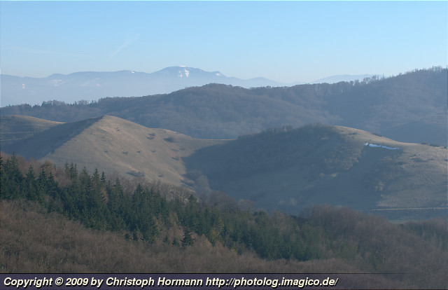 image 40: Black forest from Kaiserstuhl (with the Belchen in the back)