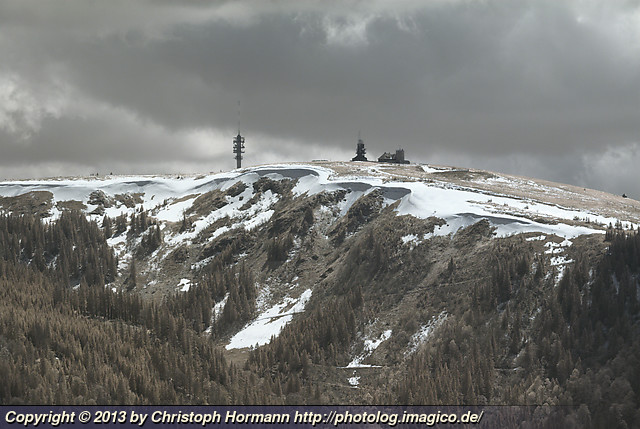 image 108: Late new snow on the Feldberg, infrared